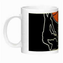 Basketball Is My Life Night Luminous Mugs by Valentinaart