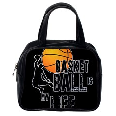 Basketball Is My Life Classic Handbags (one Side) by Valentinaart