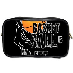 Basketball Is My Life Toiletries Bags 2 Side by Valentinaart