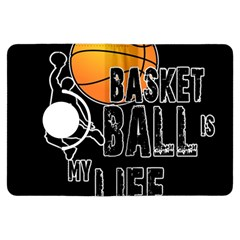 Basketball Is My Life Kindle Fire Hdx Flip 360 Case by Valentinaart