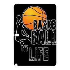 Basketball Is My Life Samsung Galaxy Tab Pro 12 2 Hardshell Case by Valentinaart
