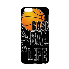 Basketball Is My Life Apple Iphone 6/6s Hardshell Case by Valentinaart