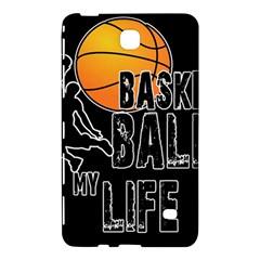 Basketball Is My Life Samsung Galaxy Tab 4 (8 ) Hardshell Case  by Valentinaart