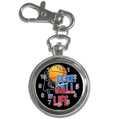 Basketball is my life Key Chain Watches