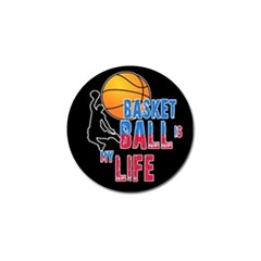 Basketball is my life Golf Ball Marker (4 pack)
