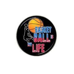Basketball is my life Hat Clip Ball Marker