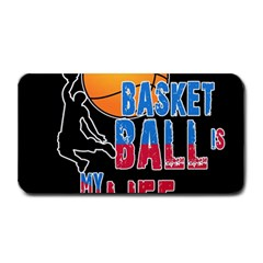 Basketball is my life Medium Bar Mats
