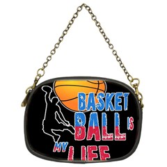Basketball is my life Chain Purses (Two Sides)