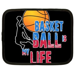 Basketball is my life Netbook Case (XXL)