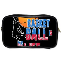 Basketball is my life Toiletries Bags 2-Side