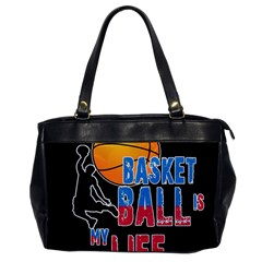 Basketball is my life Office Handbags