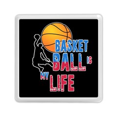Basketball is my life Memory Card Reader (Square)