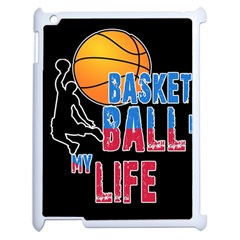 Basketball is my life Apple iPad 2 Case (White)