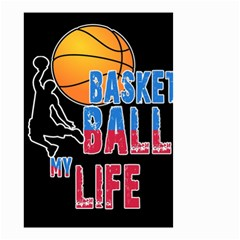 Basketball is my life Small Garden Flag (Two Sides)