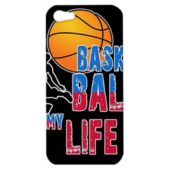 Basketball is my life Apple iPhone 5 Hardshell Case