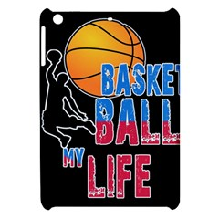 Basketball is my life Apple iPad Mini Hardshell Case