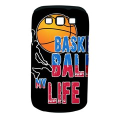 Basketball is my life Samsung Galaxy S III Classic Hardshell Case (PC+Silicone)