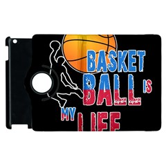 Basketball is my life Apple iPad 3/4 Flip 360 Case