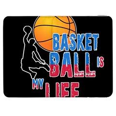 Basketball is my life Samsung Galaxy Tab 7  P1000 Flip Case