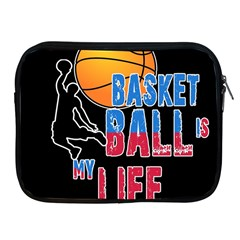 Basketball is my life Apple iPad 2/3/4 Zipper Cases