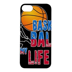 Basketball is my life Apple iPhone 5S/ SE Hardshell Case