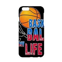 Basketball is my life Apple iPhone 6/6S Hardshell Case