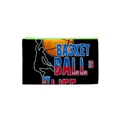 Basketball is my life Cosmetic Bag (XS)