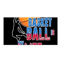 Basketball is my life Satin Wrap