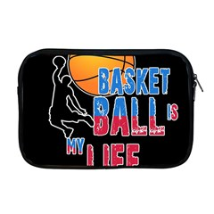 Basketball is my life Apple MacBook Pro 17  Zipper Case