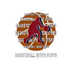 Basketball Never Stops 5 5  X 8 5  Notebooks by Valentinaart