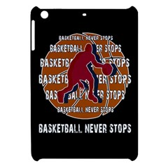 Basketball Never Stops Apple Ipad Mini Hardshell Case by Valentinaart