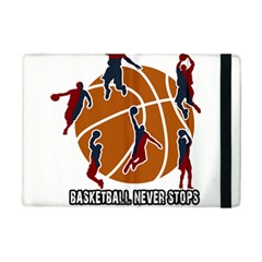 Basketball Never Stops Ipad Mini 2 Flip Cases by Valentinaart