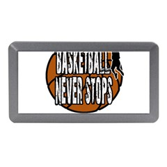 Basketball Never Stops Memory Card Reader (mini) by Valentinaart