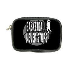 Basketball Never Stops Coin Purse by Valentinaart