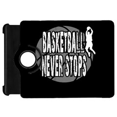 Basketball Never Stops Kindle Fire Hd 7  by Valentinaart