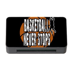 Basketball Never Stops Memory Card Reader With Cf by Valentinaart