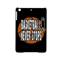 Basketball Never Stops Ipad Mini 2 Hardshell Cases by Valentinaart