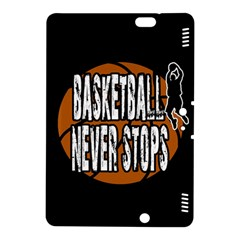 Basketball Never Stops Kindle Fire Hdx 8 9  Hardshell Case by Valentinaart