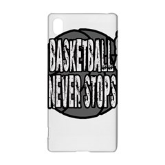 Basketball Never Stops Sony Xperia Z3+