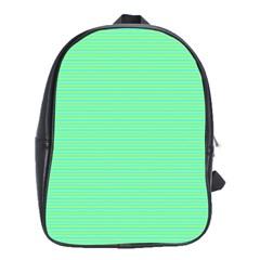 Decorative Lines Pattern School Bags (xl)  by Valentinaart