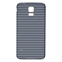 Decorative Lines Pattern Samsung Galaxy S5 Back Case (white) by Valentinaart