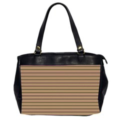 Decorative Lines Pattern Office Handbags (2 Sides)  by Valentinaart
