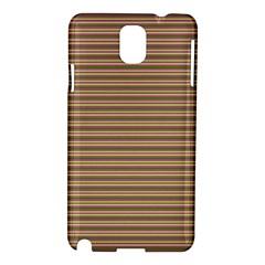 Decorative Lines Pattern Samsung Galaxy Note 3 N9005 Hardshell Case by Valentinaart