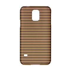 Decorative Lines Pattern Samsung Galaxy S5 Hardshell Case  by Valentinaart