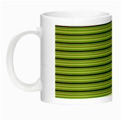 Decorative Lines Pattern Night Luminous Mugs by Valentinaart