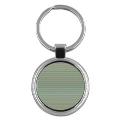 Decorative Lines Pattern Key Chains (round)  by Valentinaart