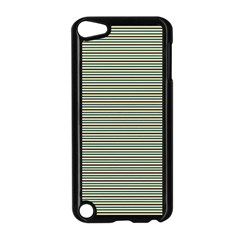 Decorative Lines Pattern Apple Ipod Touch 5 Case (black) by Valentinaart