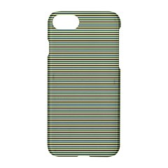 Decorative Lines Pattern Apple Iphone 7 Hardshell Case by Valentinaart