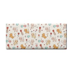 Kittens And Birds And Floral  Patterns Cosmetic Storage Cases by TastefulDesigns