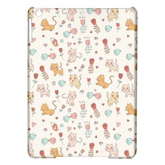 Kittens And Birds And Floral  Patterns Ipad Air Hardshell Cases by TastefulDesigns